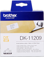 etykiety Brother DK-11209