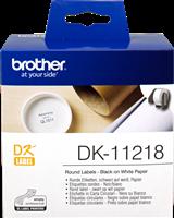 Etiquettes Brother DK-11218