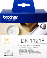 labels Brother DK-11218