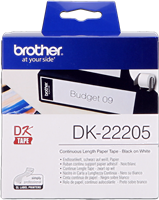 labels Brother DK-22205