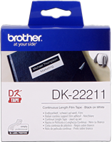 labels Brother DK-22211