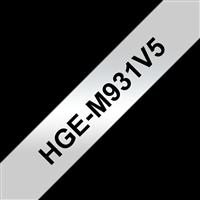 Schriftband Brother HGe-M931V5