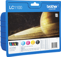 multipack Brother LC-1100-BK C M Y