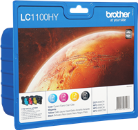 multipack Brother LC-1100HY-BK C M Y