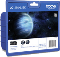 zestaw Brother LC-1280XL-BK