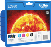 Multipack Brother LC-980