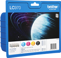 Multipack Brother LC970VALBPDR
