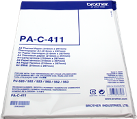 Papier thermique Brother PAC411
