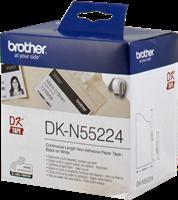 Brother Papierrolle (nicht klebend) DK-N55224 Weiss