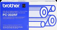 Rouleau de transfert thermique Brother PC-202RF