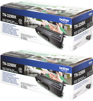 Multipack Brother TN-329BKTWIN