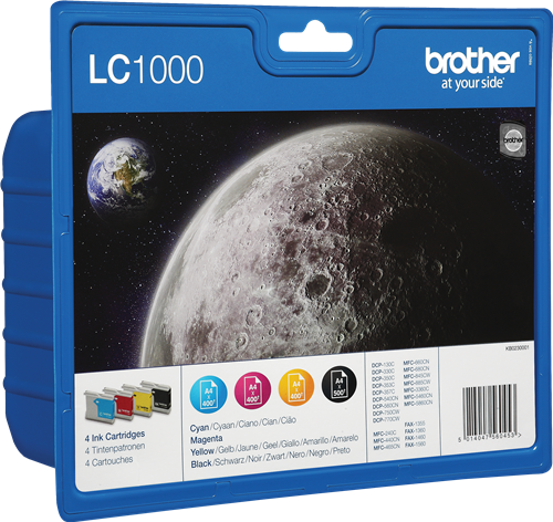 Brother LC1000VALBPDR