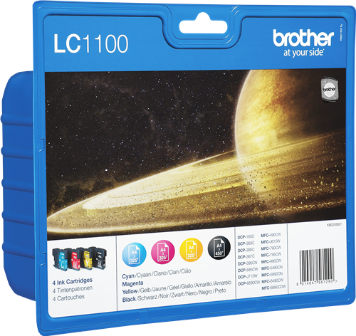 Brother LC1100VALBPDR