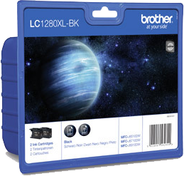 Brother LC1280XLBKBP2DR