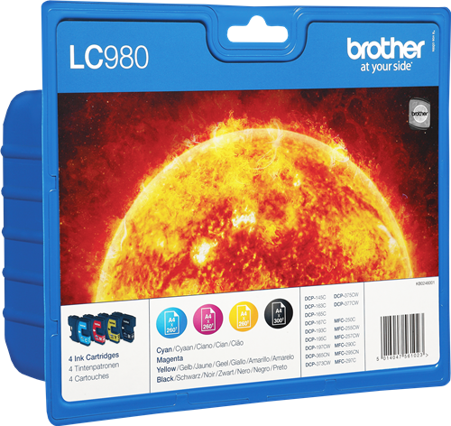 Brother LC980VALBPDR