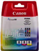 zestaw Canon CLI-8