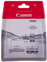 Multipack Canon PGI-520BK Twin