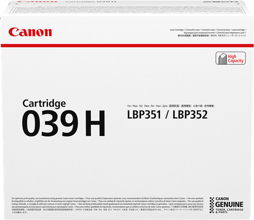 Canon 039h 0288C001
