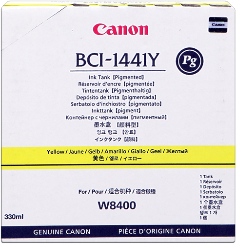 Canon W-8400P BCI-1441y