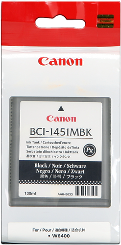 Canon BCI-1451mbk