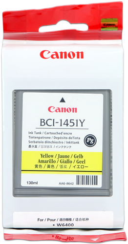 Canon W-6400P BCI-1451y
