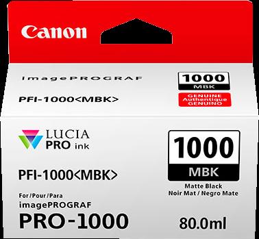 Canon PFI-1000mbk