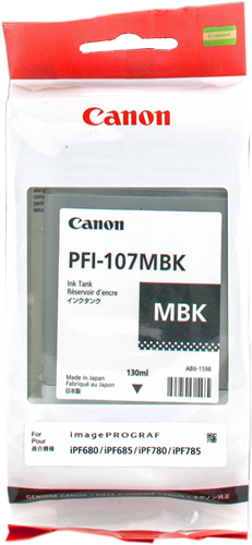 Canon PFI-107mbk