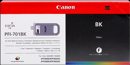 Canon PFI-701bk