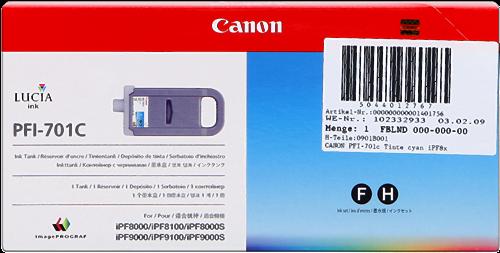 Canon PFI-701c