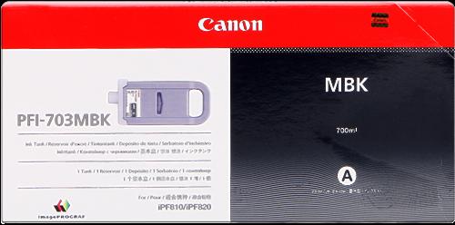 Canon PFI-703mbk