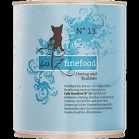 Catz finefood Katzenmenüs - 800 g - No. 13 - Hering & Krabben (008037)