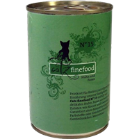 Catz finefood Katzenmenüs - 400 g - No. 15 - Huhn & Fasan (008238)