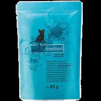 Catz finefood Katzenmenüs - 85 g - No. 21 - Wild & Rotbarsch (008306)