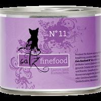 Catz finefood Katzenmenüs - 200 g - No. 11 - Lamm & Kaninchen (008606)