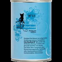 Catz finefood Katzenmenüs - 400 g - No. 13 - Hering & Krabben (008644)