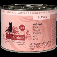 Catz finefood Katzenmenüs - 200 g - No. 3 - Geflügel (008890)