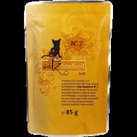 Catz finefood Katzenmenüs - 85 g - No. 7 - Kalb (008944)