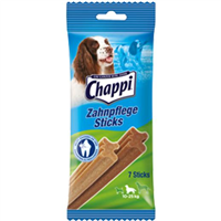 Chappi Zahnpflege Sticks - 7 Stück - mittlere Hunde (119204)