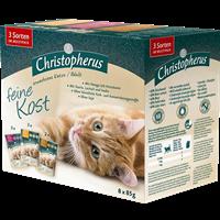 Christopherus Feine Kost - Erwachsene Katze - Multipack - 8 x 85 g (4005784174653)