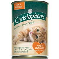 Christopherus Katze - Fleischmahlzeit - 400g