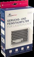 Clean Office Geruchs-Feinstaubfilter für Laserdrucker 150x120mm