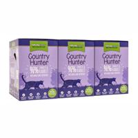 Country Hunter Cat Frischebeutel - 85 g - 96% Pute & Kaninchen (CHCPTR)