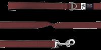 Curli Basic Hundeleine Nylon - 140 x 1,5 cm - maroon (7640144821760)