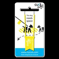 Curli Yellow Dog Tag - 1 Stück (9203-0109-YDT-100-01)