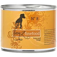 Dogz finefood Hundemenüs - 200 g - No. 8 - Pute & Ziege (079471)