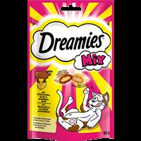 Dreamies Traumhafte Katzensnacks - 60 g - Mix mit Käse & Rind (056277)