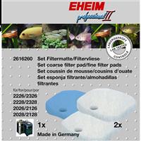 EHEIM Set Filtermatte & Filtervlies für Experience/Professionel 350 - 1 x Matte, 2 x Vlies (4011708260357)