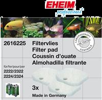 EHEIM Filtervlies für Experience/Professionel 250 & 250T - 3 Stück (4011708260456)