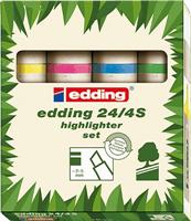 24-4 Highlighterset EcoLine Edding 4-24-4