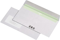 Envirelope BU 227540, weiß, DL, mF, HK, 80g Envirelope CO2-frei 227440
